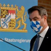 Der bayerische Ministerpräsident Markus Söder gibt Corona-Regeln für Bayern bekannt.