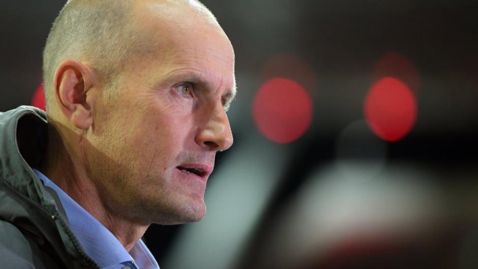 Trainer Heiko Herrlich will mit dem FC Augsburg nach zwei Niederlagen punkten. Gegner ist am Samstag Mainz 05.