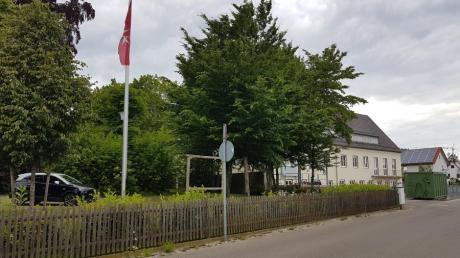 Das Rota-Druck-Areal in Steppach wird wohl nicht so schnell bebaut.