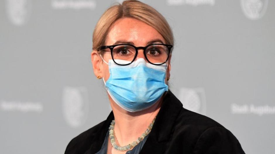 Seit Mai ist Eva Weber Oberbürgermeisterin in Augsburg. Das Thema Corona bestimmt ihre bisherige Amtszeit.