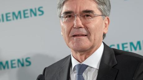 """""""Biden könnte gut für Siemens sein"""", sagt Joe Kaeser über die Wahl in den USA."""