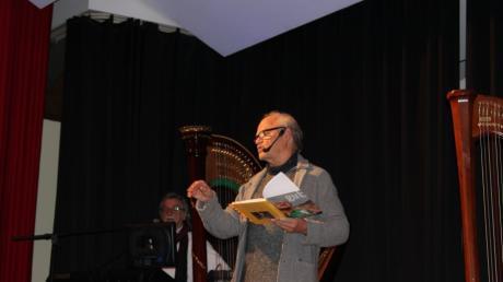 """Uli Pickl stellt seine Autobiographie """"Erschreckend gut"""" im Haus Hopfensee vor."""