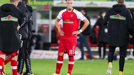 Spielt beim SC Freiburg bislang nur eine Nebenrolle. Ermedin Demirovic (M).
