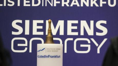 Siemens Energie wurde 2020 von Siemens abgespalten und ging Ende September an die Börse.