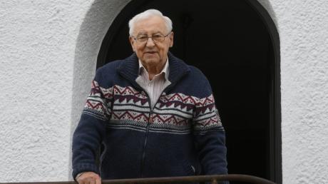 Karl Hinterstößer aus Dinkelscherben hat die letzten Monate des Zweiten Weltkriegs als Soldat erlebt.
