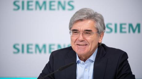 Joe Kaeser legte seine letzte Siemens-Bilanz vor.