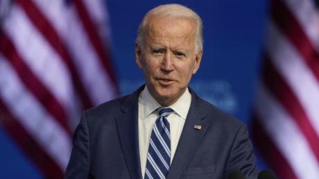 Joe Biden ist designierter US-Präsident. Voraussichtlich hat er 306 Wahlleute gewonnen.