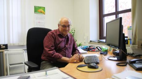 Nach 25 Jahren als Geschäftsleiter der VG Kühbach geht Friedrich Schäffler in Altersteilzeit. Insgesamt arbeitete der 62-Jährige 40 Jahre in der VG.