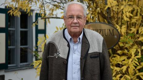 Horst Raabe beschäftigt sich mit der Geschichte der Denklinger Vereine.