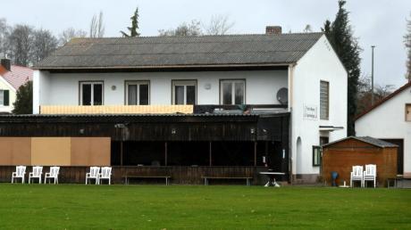Für das in die Jahre gekommene Vereinsheim der Fußballer des TSV Steppach gibt es Sanierungspläne.
