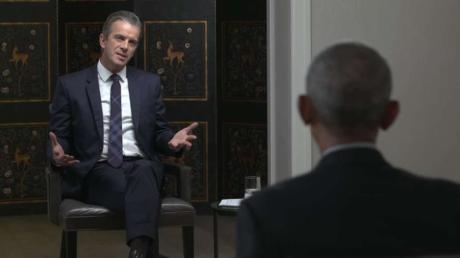 Deutschlands Talkshow-König und Amerikas Ex-Präsident