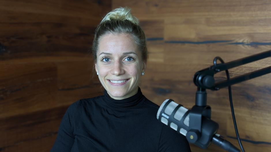 """Zu Gast im Podcast """"Augsburg, meine Stadt"""": Die 28-jährige Profi-Boxerin Tina Rupprecht."""