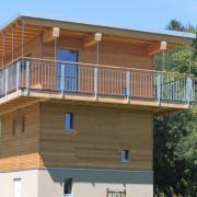 Der neue Öko-Garten-Turm auf der Jungviehweide.