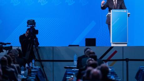 Jörg Meuthen kritisiert Provokateure in der eigenen Partei - auch in Bezug auf die Corona-Politik.
