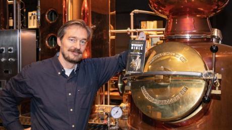 """Das handwerkliche Können von Hans-Jürgen Filp brachte einen seiner Whiskys in die """"Jim Murrays Whisky Bible""""."""