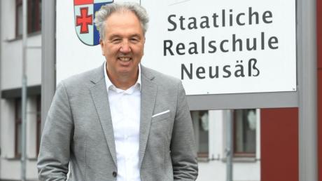 Der neue Schulleiter der Realschule Neusäß, Marcus Langguth.
