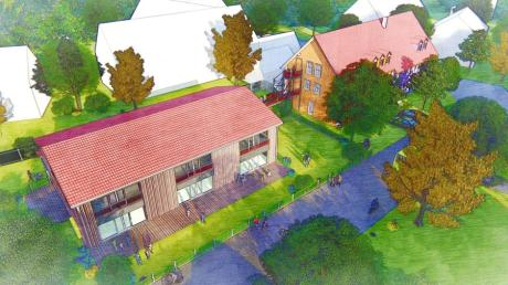 So sieht der Planentwurf des Architekten  Gerhard Birkle aus.
