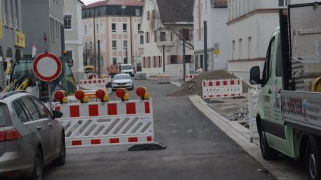 Die Sanierung der Fuggerstraße in Schwabmünchen war lange ein großes Thema in der Stadt.