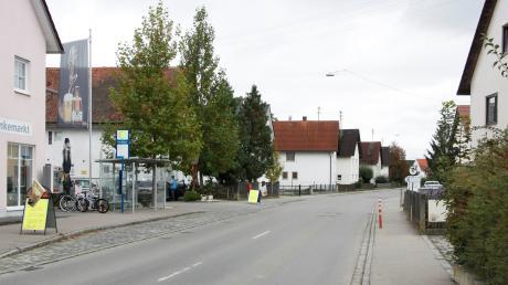 """""""Etwa in der Kleinaitinger Ortsmitte wird der Bebauungsplan für den Altort in Nord und Süd aufgeteilt."""