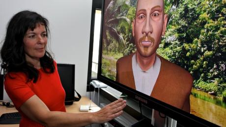 Die Augsburger Professorin Elisabeth André forscht an der Universität im Bereich künstlicher Intelligenz.