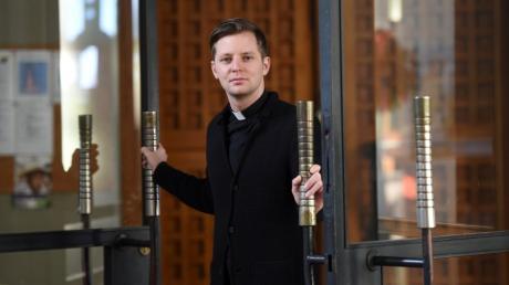 Pfarrer Benedikt Huber, Seelsorger für Langweid und Stettenhofen, ist ab Januar auch für Lützelburg zuständig.