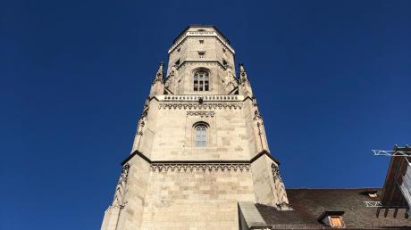 Der Daniel, Turm der Sankt-Georgskirche, ist das Wahrzeichen von Nördlingen.
