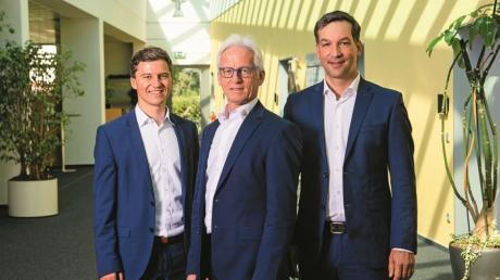 David Witty (links) folgt auf seinen Vater Hubert Witty in der Geschäftsleitung. Thilo Schindler bleibt weiterhin Geschäftsführer.
