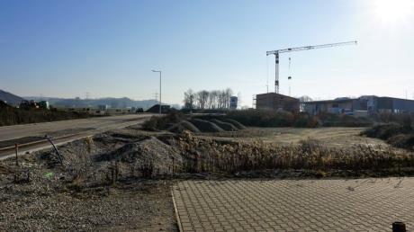 Die Erweiterung des Gewerbegebietes in Sand ist in vollem Gange.