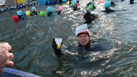 Das Donauschwimmen ist fest als Tradition etabliert, wie dieses Bild aus dem Jahr 2010 zeigt.