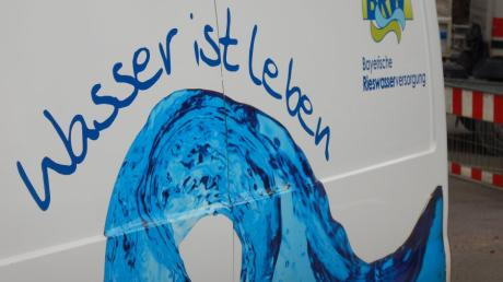 In Ebermergen gab es am Vormittag des 27. Dezember kein Trinkwasser.