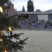 Familienchristvesper an Heilig Abend Freilichtbühne Donauwörth Evangelische Kirchengemeinde mit Pfarrerin Jasmin Gerhäußer
