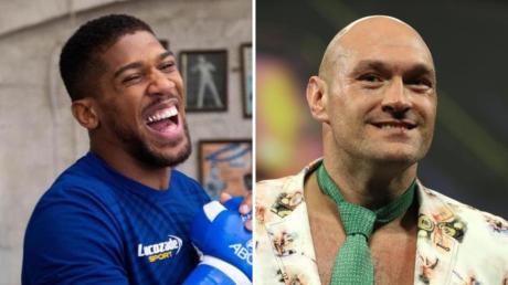 Boxen im Schwergewicht: Steht bald ein Kampf zwischen Anthony Joshua und Tyson Fury an?