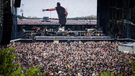 """Wird man den """"Boss"""" so je wiedererleben? Bruce Springsteen 2016 bei einem Open-Air-Konzert in den Niederlanden."""