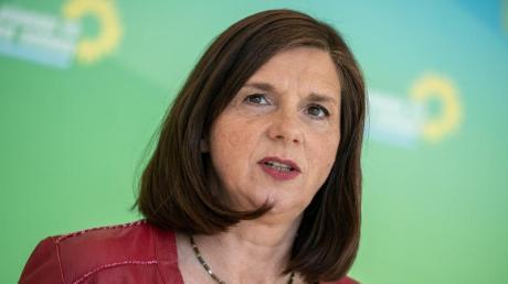 Katrin Göring-Eckardt ist Fraktionsvorsitzende von Bündnis 90/Die Grünen.