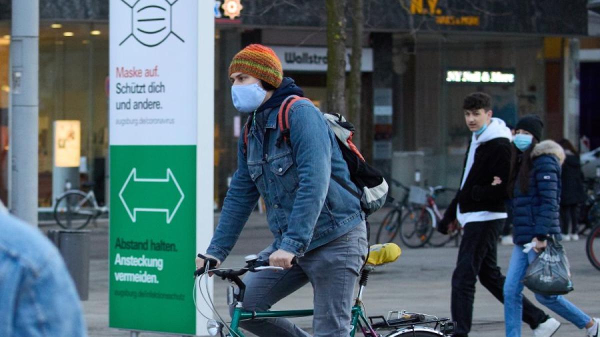 Augsburg: Stadt Augsburg hebt Maskenpflicht für Radler auf ...
