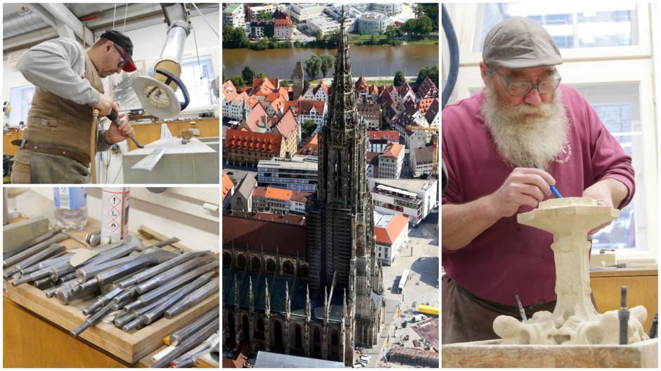 Die Ulmer Münsterbauhütte ist Teil des Unesco-Kulturerbe. Ein Besuch vor Ort in der Werkstatt.