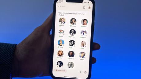 Clubhouse ist eine neue Social-Media-App, die voll auf Audio setzt. Bisher ist sie nur für Apple-Nutzer verfügbar.