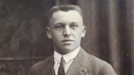 Alois Kober Kötz junger Schlossermeister