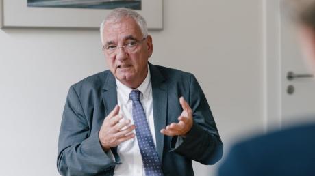 Der Augsburger Steuerberater Hartmut Schwab ist Präsident der Bundessteuerberaterkammer