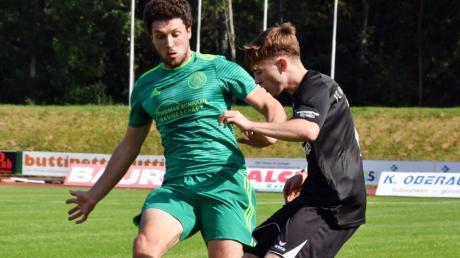 Markus Petzold vom Landesligisten SV Bad Heilbrunn (links) verstärkt künftig den FC Horgau.