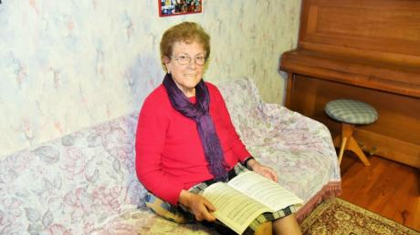 Ein Leben für die Kirchenmusik: Seit mehr als 75 Jahren ist Berta Alander als Sängerin und Chorleiterin engagierte und passionierte Stütze des Jedesheimer Kirchenchors.