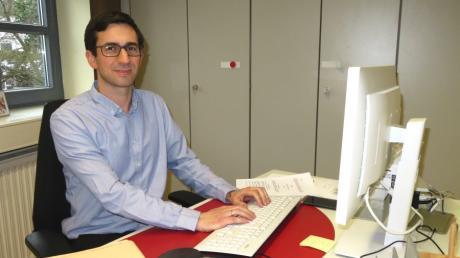 Geschäftsstellenleiter Benjamin Schröter ist ab 1. Februar auch Standesbeamter und Leiter des Standesamtes.