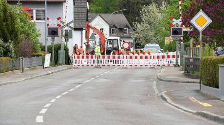 Die Ortsdurchfahrt des Günzburger Stadtteils Wasserburg ist im Bereich der Kreisstraße GZ 18 abschnittsweise  gesperrt.