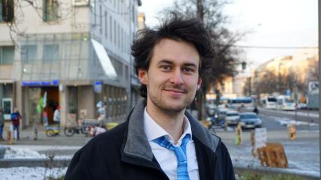 Alexander Mai, Klimaaktivist und Direktkandidat der ÖDP für den Bundestag.