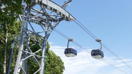 In Koblenz gibt es bereits eine Seilbahn, sie wurde zur Bundesgartenschau 2011 gebaut.