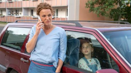"""Letzter Fall für Olga Lenski (Maria Simon): Szene aus dem """"Polizeiruf 110: Monstermutter"""", der gestern im Ersten lief."""