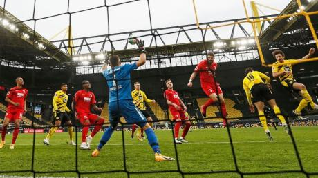 Thomas Delaney traf zum 1:1 Ausgleich für Dortmund. Es sollten zwei weitere Tore für das Team folgen.
