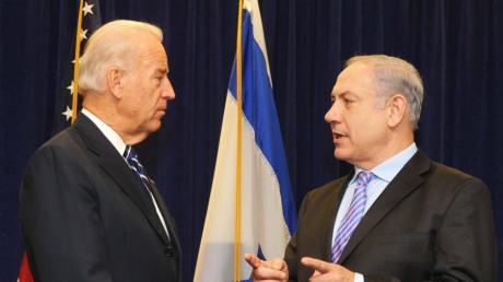 Als Vize-Präsident traf Joe Biden (links) den israelischen Premier Benjamin Netanjahu unter anderem 2010 in New Orleans.