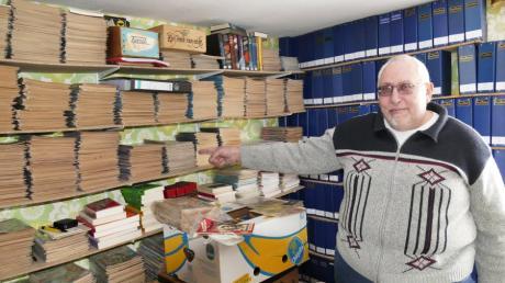 30.000 Hefte und kein Ende in Sicht. Ein paar Plätze seien noch frei, sagt Klaus Lechelmayer.