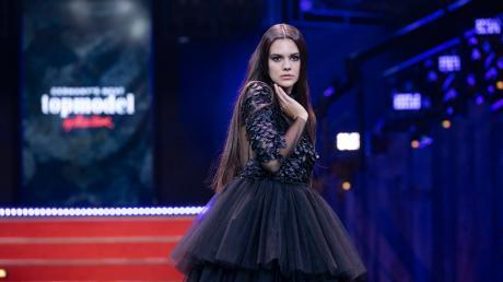 """Ana Martinovic aus Nersingen bei ihrem ersten Auftritt bei """"Germany's Next Topmodel""""."""